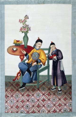Chinese Drawings - Court and Society c